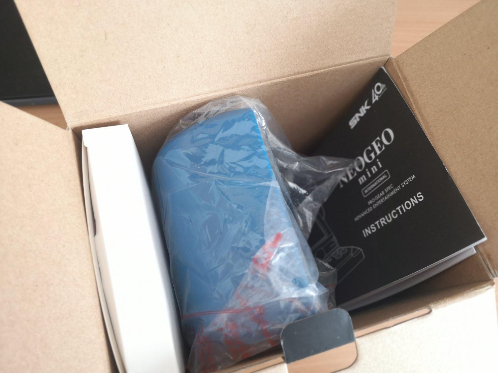 Neo Geo Mini doboz kidobva